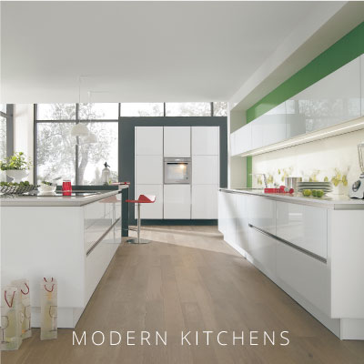 modern kitchen home banner