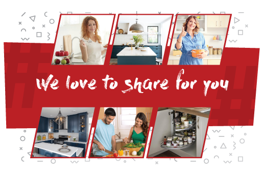 we love share home banner